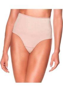 Kit 2 Calcinhas Modeladora Liebe Compressão Shapewear Feminina - Feminino-Bege