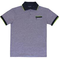 663d0fb7d83 Camiseta Polo Manga Curta Mini Estampa - Vr Kids - Masculino