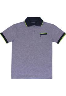 d3c6dbc379 Camiseta Polo Manga Curta Mini Estampa - Vr Kids - Masculino