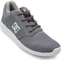4d197b348 Tênis Dc Shoes Mid Adys Masculino - Masculino-Cinza+Branco