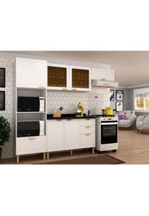 Cozinha Compacta Nevada I 6 Pt 4 Gv Branca