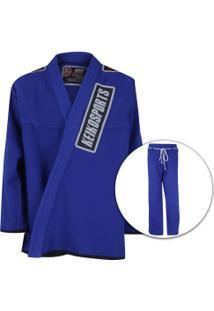 Kimono Jiu-Jitsu Keiko Série Limitada Color 02 - Adulto - Azul