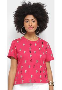 Camiseta Cantão Casório Feminina - Feminino-Pink