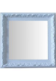 Espelho Moldura Rococó Raso 16138 Branco Art Shop