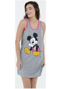 Camisola Feminina Estampa Mickey Nadador Disney