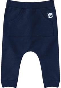 Calça Tigor T. Tigre Bebê Masculino - Masculino-Azul