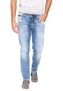 Calça Jeans Calvin Klein Jeans Skinny Azul