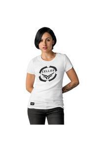 Camiseta Feminina Cellos Corp Premium W Branco