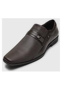 Sapato Social Ferracini Texturizado Preto