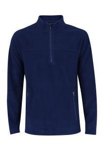 Blusa De Frio Fleece Nord Outdoor Basic - Masculina - Azul Escuro