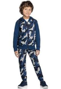 Jaqueta Marisol Infantil Masculina - Masculino-Azul