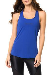 Regata Athletic Calvin Klein Swimwear Estampa Ck Azul Royal - M