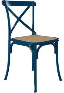 Cadeira De Jantar Katrina Azul