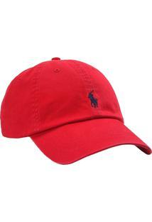 Boné Polo Ralph Lauren Cotton Chino Baseball Red