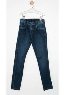 Calça Jeans Infantil Express Lipe Masculina - Masculino-Azul