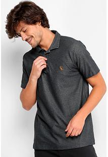 103ce4c8f6 Camisa Polo Reserva Piquet Mesclada Masculina - Masculino