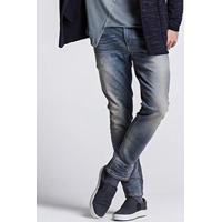 c751cecee86 Amazon. Calça Jeans Masculina Bolso Relógio Khelf