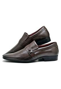 Sapato Social Masculino Café Marrom
