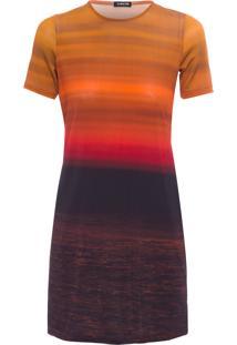 Vestido Sunset - Laranja
