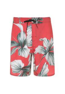 Bermuda Masculina Surf Fleur - Vermelho