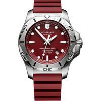6d70e3c6cdb Relógio Victorinox Swiss Army Masculino Borracha Vermelha - 241736