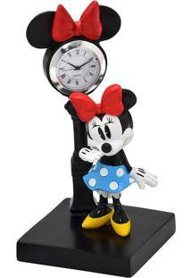 Relógio De Mesa Analógico Minnie® - Preto & Vermelhomabruk