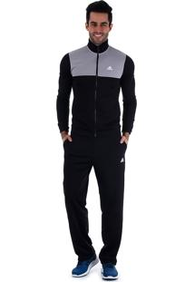 Agasalho Masculino Adidas Back2Basics - Preto