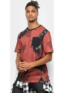 Camiseta Mcd Especial The Birds Masculina - Masculino-Vermelho Escuro 8267db0f773
