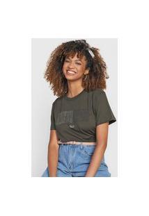 Camiseta Colcci Why Not Verde