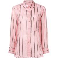 Farfetch. Isabel Marant Étoile Camisa Listrada Yvana - Rosa c8ed8fb27a1a8