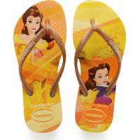 90e3864bb1 Chinelo Para Meninas Amarelo Havaianas infantil