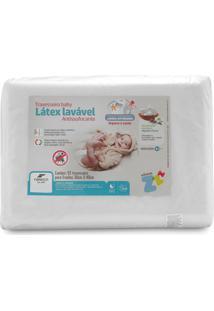 Travesseiro Fibrasca Latex Sintético Lavável Baby