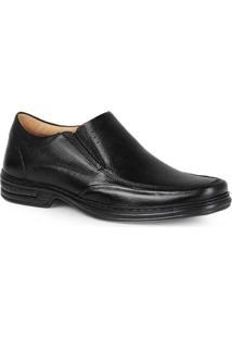 Sapato Conforto Masculino Rafarillo Elástico Preto