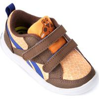361c4256f2d Tênis Infantil Reebok Vflex Critter Feet - Feminino-Laranja