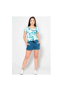T-Shirt Kruger'S Concept Tie Dye Azul