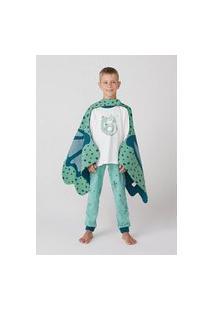 Pijama Infantil Menino Longo Dragão