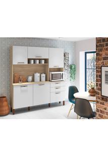 Cozinha Compacta Kit'S Paraná Ferrara, 6 Portas, 2 Gavetas