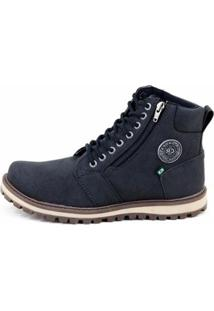 Bota Adventure Cr Shoes Masculina - Masculino-Preto