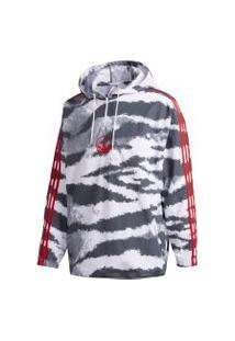 Jaqueta Adidas Zebra Aop Anora Branco