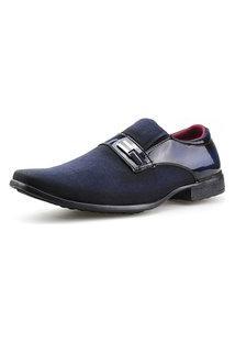 Sapato Social Neway Azul