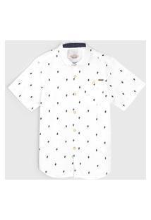 Camisa Milon Infantil Cacto Branca