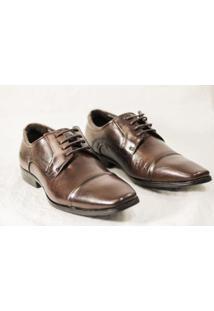 Sapato Social Ferracini Couro Masculino - Masculino