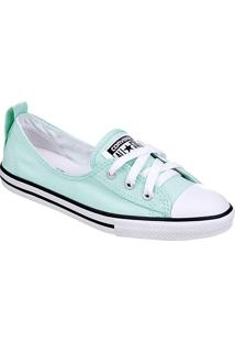 Tênis Feminino Converse All Star Ct As Ballet Lace Menta/Bco/Pto - Ce 0011.0003