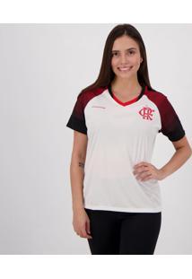 Camiseta Flamengo Fortune Feminina - Branco - Feminino - Dafiti