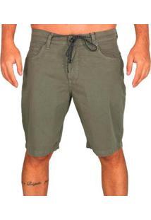 Bermuda Mcd Casual Slim Masculina - Masculino