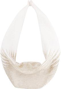 Mignonne Gavigan Heidi Scarf Necklace - Branco