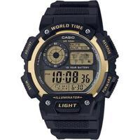 e34855c40ea Relógio Casio Masculino - Masculino-Preto