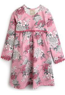 Vestido Milon Floral Rosa