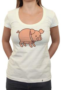 Bacon - Camiseta Clássica Feminina