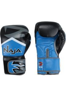Luvas De Boxe Naja New Extreme - 16 Oz - Adulto - Azul